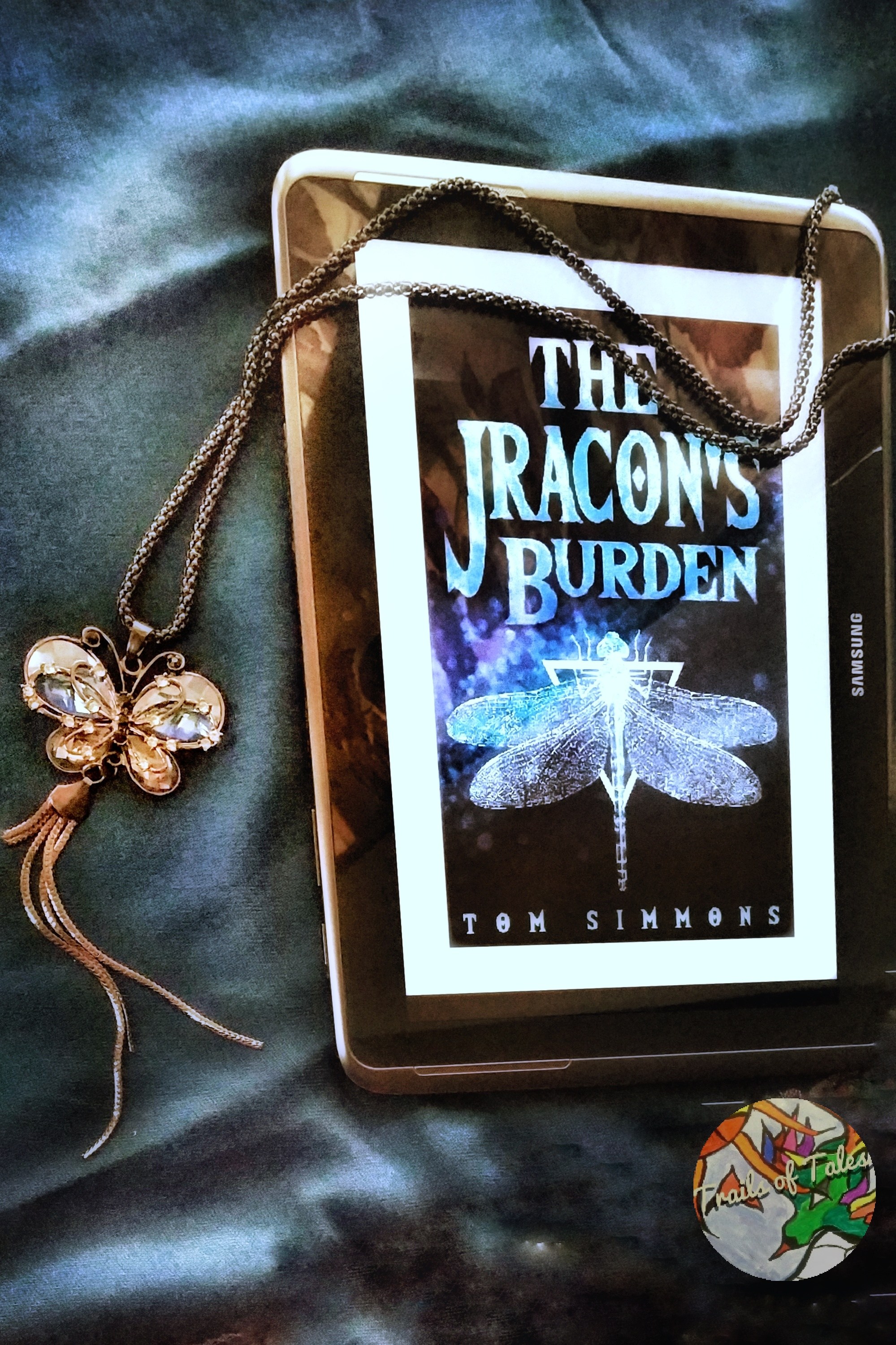 Book cover of The Jracon's burden by Tom Simmons